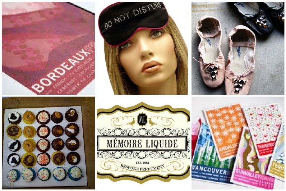 JHill Design, Mary Green Sleep Mask, Bona Drag, Baked by Melissa, Memoire Liquid